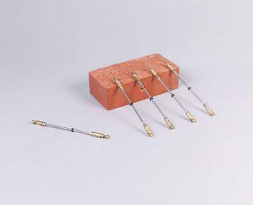 Mechanical Brass Wall Ties 150mm - 300mm (Box of 100) 1