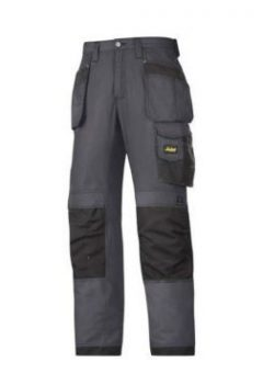 Snickers Trousers 3213 Ripstop Holster Pocket - Steel Grey 4