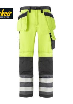 snickers 3233 high vis trouser