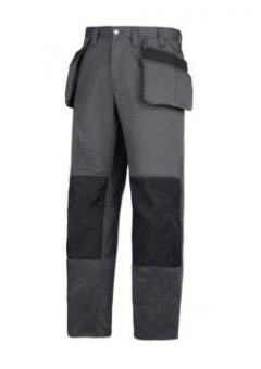 Snickers Craftsmen Trousers 3251 - Grey & Black 5
