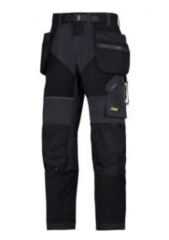 Snickers Trousers 6902 With Holster Pockets - Black 2