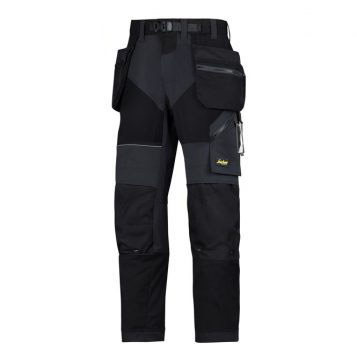 Snickers Trousers 6902 With Holster Pockets - Black 1