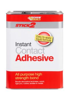 Everbuild All Purpose Contact Adhesive - 5 Litre 5