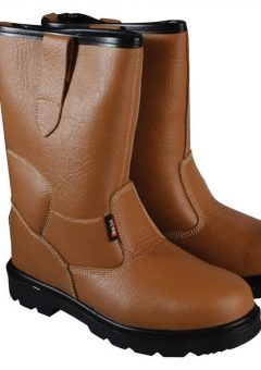 Texas Lined Tan Rigger Boots UK 9 Euro 43 2