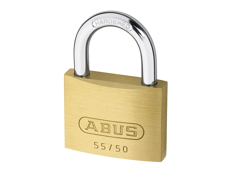 55/50mm Brass Padlock Keyed Alike 5501 - ABUKA02874 1