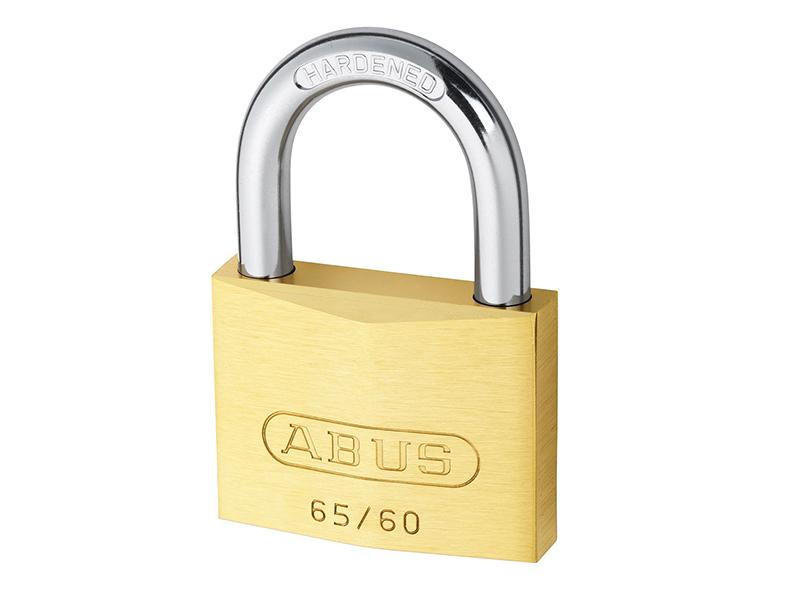 65/60mm Brass Padlock Keyed Alike 6602 - ABUKA12007 1