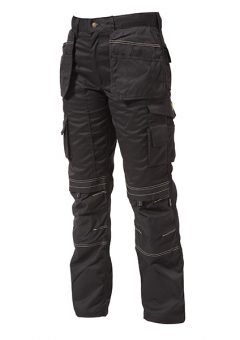 Black Holster Trousers Waist 34in Leg 33in - APAHTB3334 3