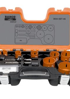 Professional Holesaw Set 3834-95 Sizes: 16-64mm - BAHHSSET95 4