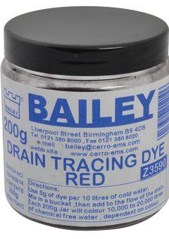 3590 Drain Tracing Dye - Red - BAI3590 6
