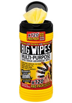 4x4 Multi-Purpose Cleaning Wipes Tub of 120 - BGW2412 2
