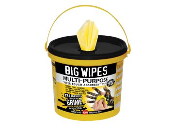 4x4 Multi-Purpose Cleaning Wipes Bucket of 300 - BGW2417 1
