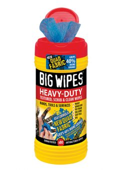 4x4 Heavy-Duty Cleaning Wipes Tub of 80 - BGW2420 5