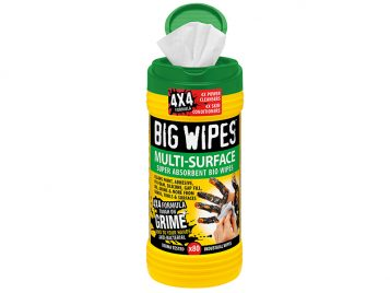 4x4 Multi-Surface Cleaning Wipes Tub of 80 - BGW2440 1