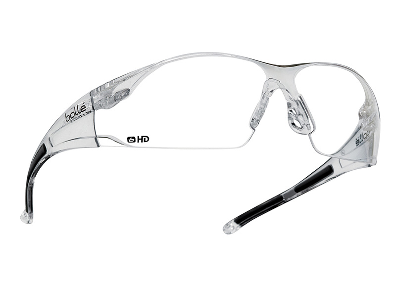 RUSH Safety Glasses - Clear HD - BOLRUSHDPI 1