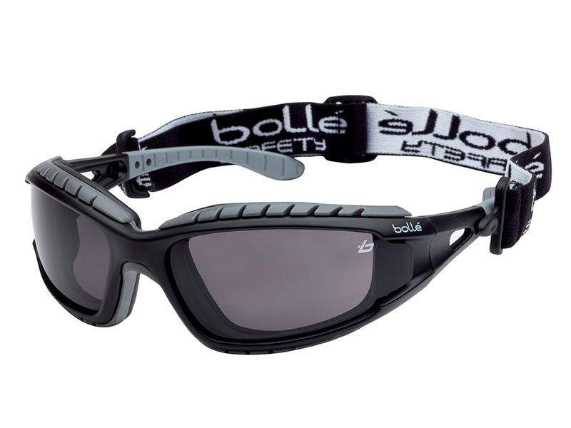 TRACKER Safety Goggles Vented Smoke - BOLTRACPSF 1