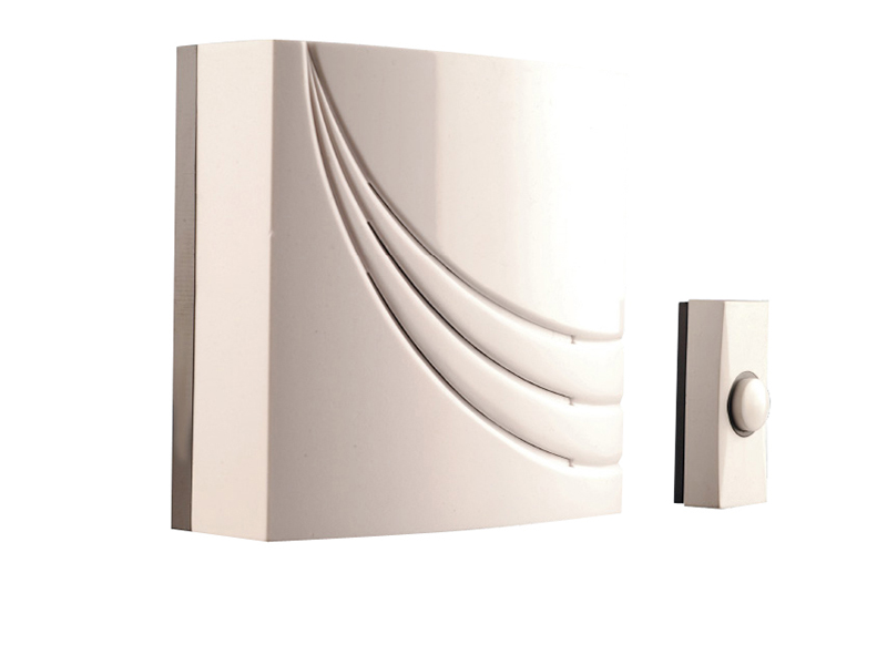 761 Wired Wall Mounted Electronic Doorbell with 8 Melodies - BYR761 1