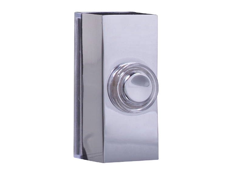 7960C Wired Doorbell Additional Chime Bell Push Chrome - BYR7960C 1