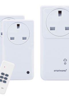 SmartHome Remote Control WiFi Socket Set With App 3 Piece - BYRSH5SETGW 10