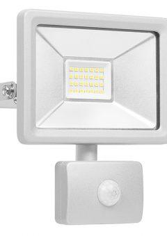 Ultra Slim Integrated LED Floodlight With Sensor 20 Watt 1600 Lumen - BYRSL1DOB20 8