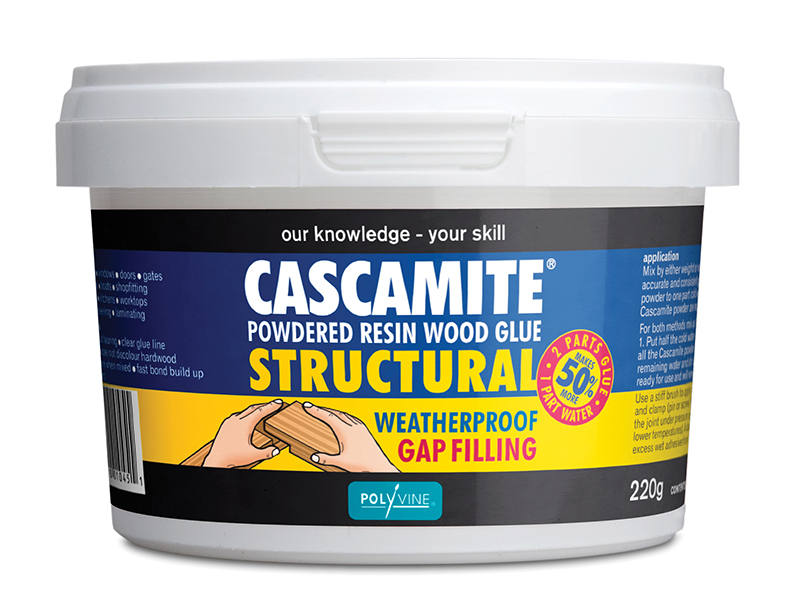 Cascamite One Shot Structural Wood Adhesive Tub 220g - CAS220G 1