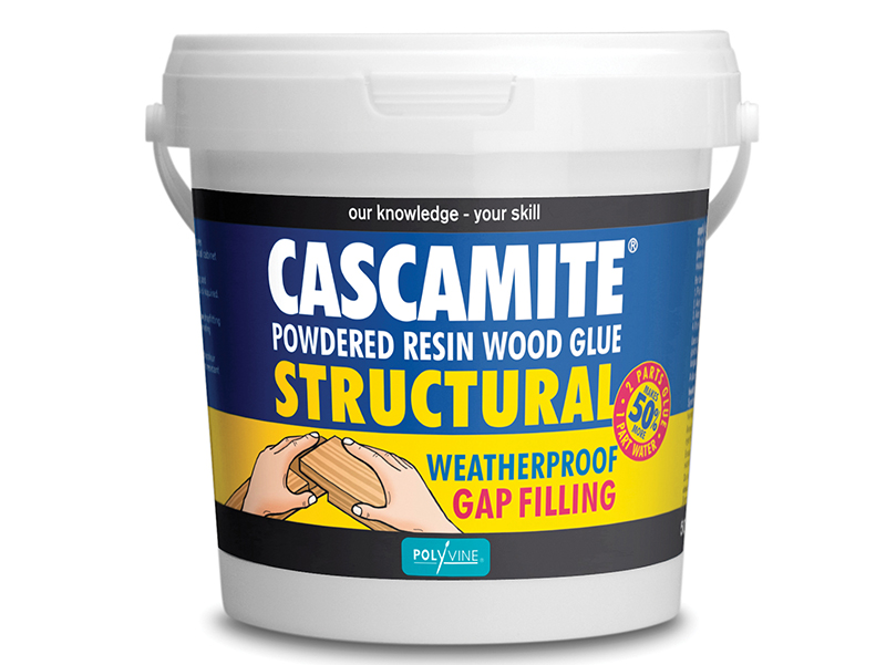 Cascamite One Shot Structural Wood Adhesive Tub 500g - CAS500G 1
