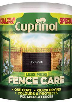 Less Mess Fence Care Rich Oak 6 Litre - CUPLMFCRO6L 2