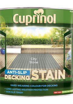 Anti-Slip Decking Stain City Stone 2.5 Litre - CUPUTDSCS25L 6