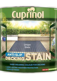 Anti-Slip Decking Stain Urban Slate 2.5 Litre - CUPUTDSUS25L 1
