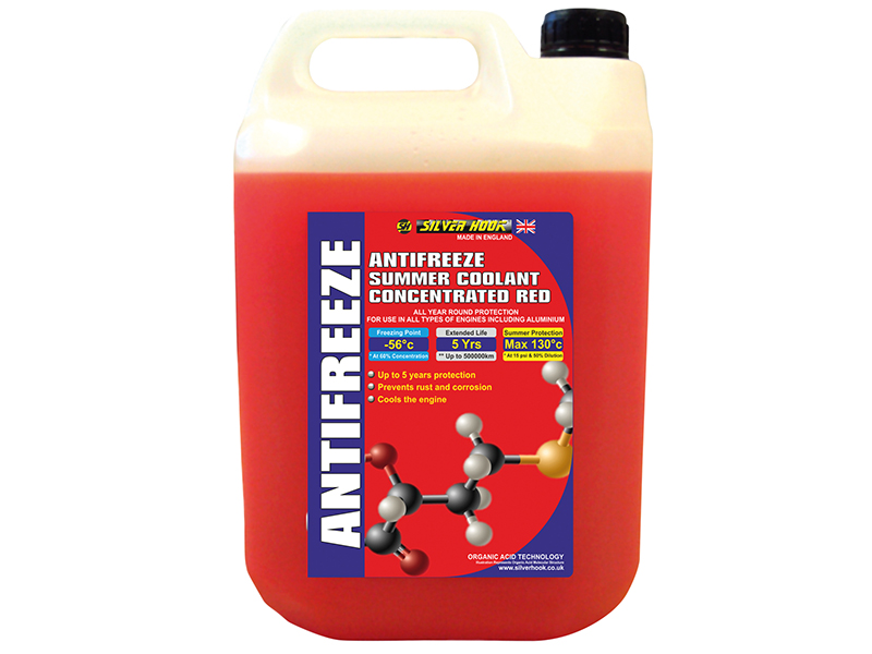 Concentrated Red Antifreeze O.A.T. 4.5 Litre - D/ISHAR4 1
