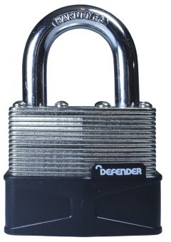 Laminated Padlock 50mm - DEFLAM50 4