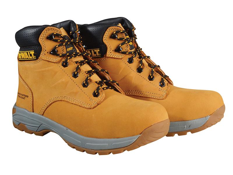 SBP Carbon Nubuck Safety Hiker Wheat Boots UK 9 Euro 43 - DEWCARBON9W 1