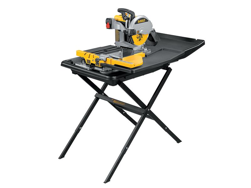 D24000 Wet Tile Saw with Slide Table 1600 Watt 240 Volt - DEWD24000 1