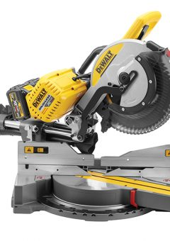 DHS780T2 FlexVolt XR Brushless Mitre Saw 305mm 18/54V 2 x 6.0/2.0Ah Li-ion - DEWDHS780T2 2