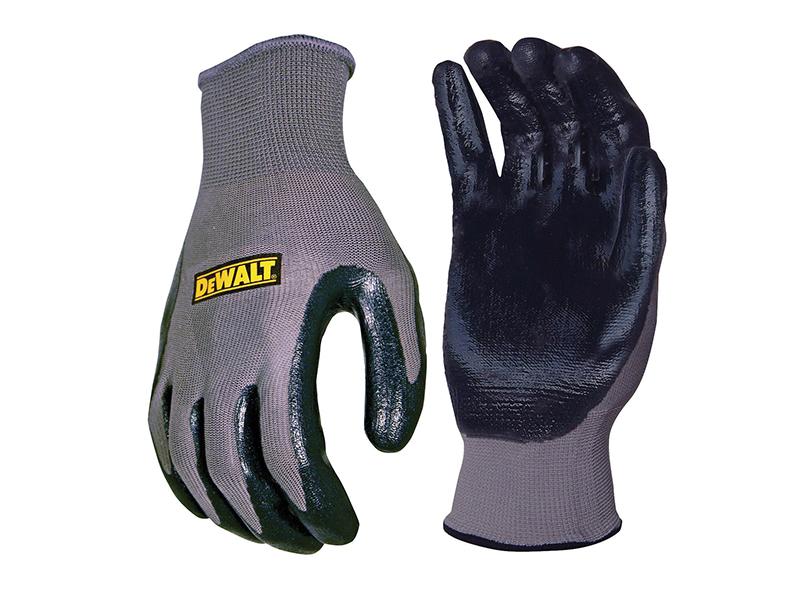 DPG66 Nitrile Nylon Gloves - Large - DEWDPG66L 1