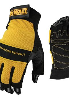 1/2 Synthetic Padded Leather Palm Gloves - DEWPERFORM4 1
