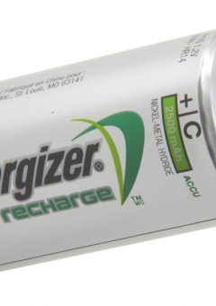C Cell Rechargeable Power Plus Batteries RC2500 mAh Pack of 2 - ENGRCC2500 9