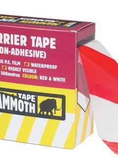 Barrier Tape Red / White 72mm x 500m - EVB2BARRD500 5
