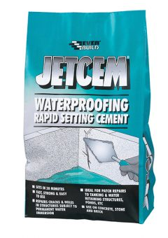 Jetcem Waterproofing Rapid Set Cement (Single 3kg Pack) - EVBJETWAT3 7