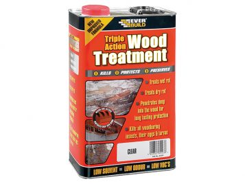 Triple Action Wood Treatment 5 Litre in stock at Builders SuperStore – get yours today!