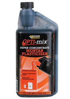 Opti-Mix Mortar Plasticiser 1 litre - EVBOPTIMIX1 1