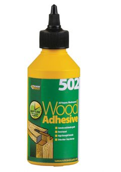 502 All Purpose Weatherproof Wood Adhesive 1 Litre - EVBWOOD1 3