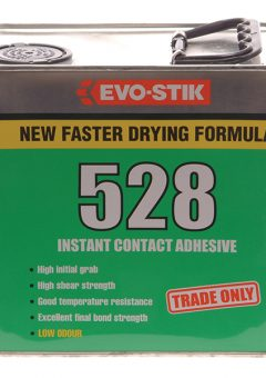 528 Instant Contact Adhesive 2.5 Litre - EVO528212L 10
