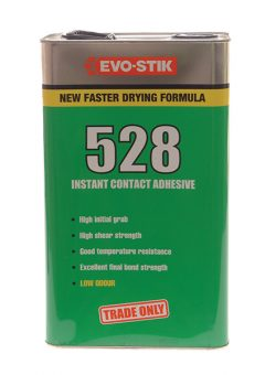 528 Instant Contact Adhesive 5 Litre - EVO5285L 11