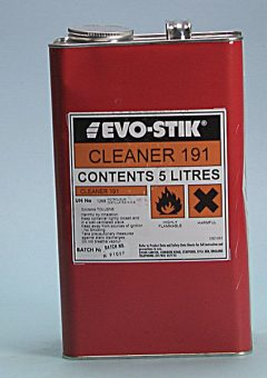 191 Adhesive Cleaner 5 litre - EVOCL5L 2