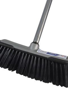 Soft Broom with Screw On Handle 30cm (12in) - FAIBRSOFTDIY 5