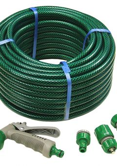 PVC Reinforced Hose 30m Fittings & Spray Gun - FAIHOSE30AV 2
