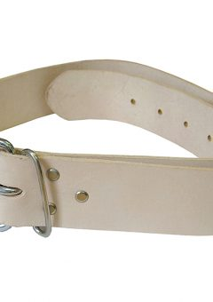 Heavy-Duty Leather Belt 45mm Wide - FAILB134 5