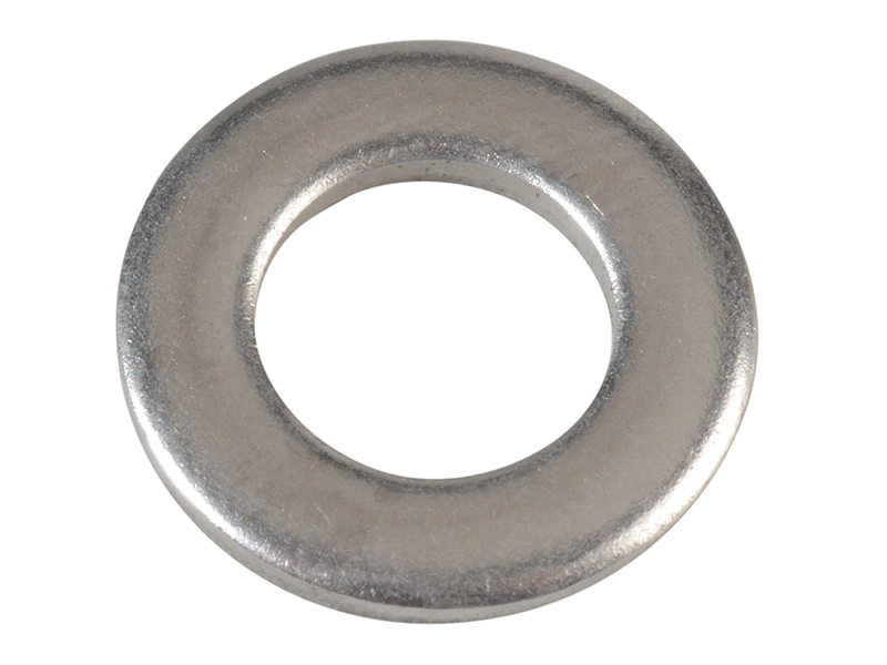Flat Washers DIN125 A2 Stainless Steel M6 ForgePack 60 - FORFPWAS6S 1