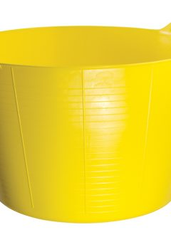 Gorilla Tub® 75 litre Extra Large - Yellow - GORTUB75 4