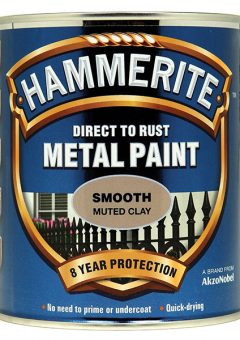 Direct to Rust Smooth Finish Metal Paint Muted Clay 750ml - HMMSFMC750 4